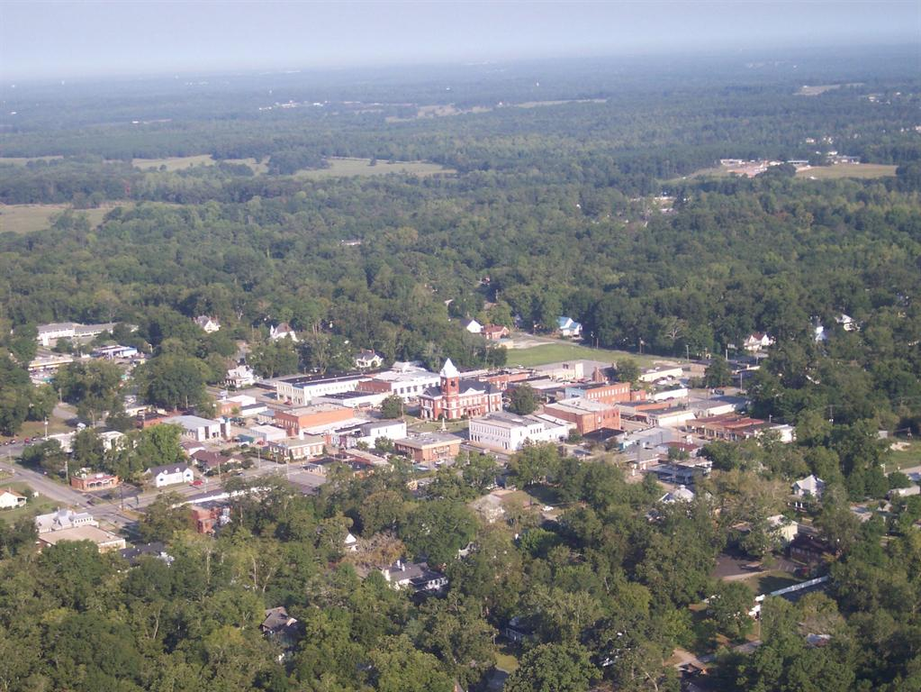 Aerial View of Jackson, Georgia